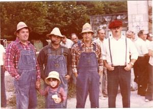 1 to r..Don and Kenny Flynn, Tom Jones, Jim Godsey and Denny Godsey