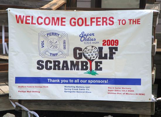 2009 Golf Scramble