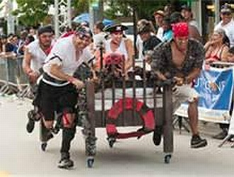 Springville Heritage Festival Bed Race