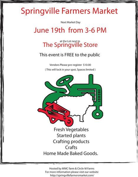 Springville Farmers Market