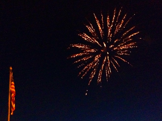 Springville Heritage Festival Fireworks