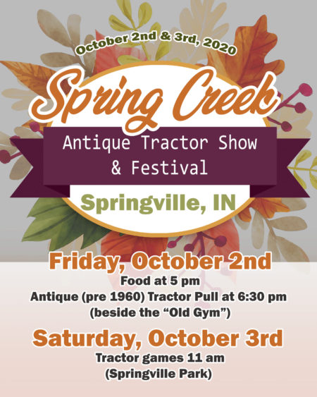 Spring Creek Antique Tractor Show & Festival